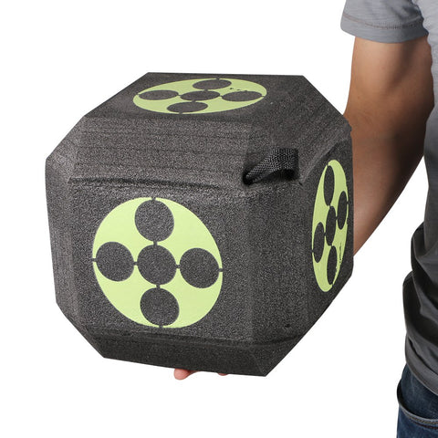 Archery 3D Target Dice for Shooting Hunting Practice EXPE Target Cube
