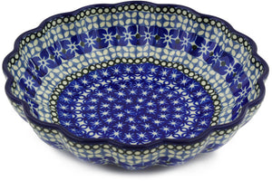 "UNIKAT 7"" Scalloped Bowl"