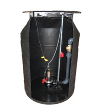 Load image into Gallery viewer, 1000SH Sewage Pumping Station (1000ltr) 10m Lift