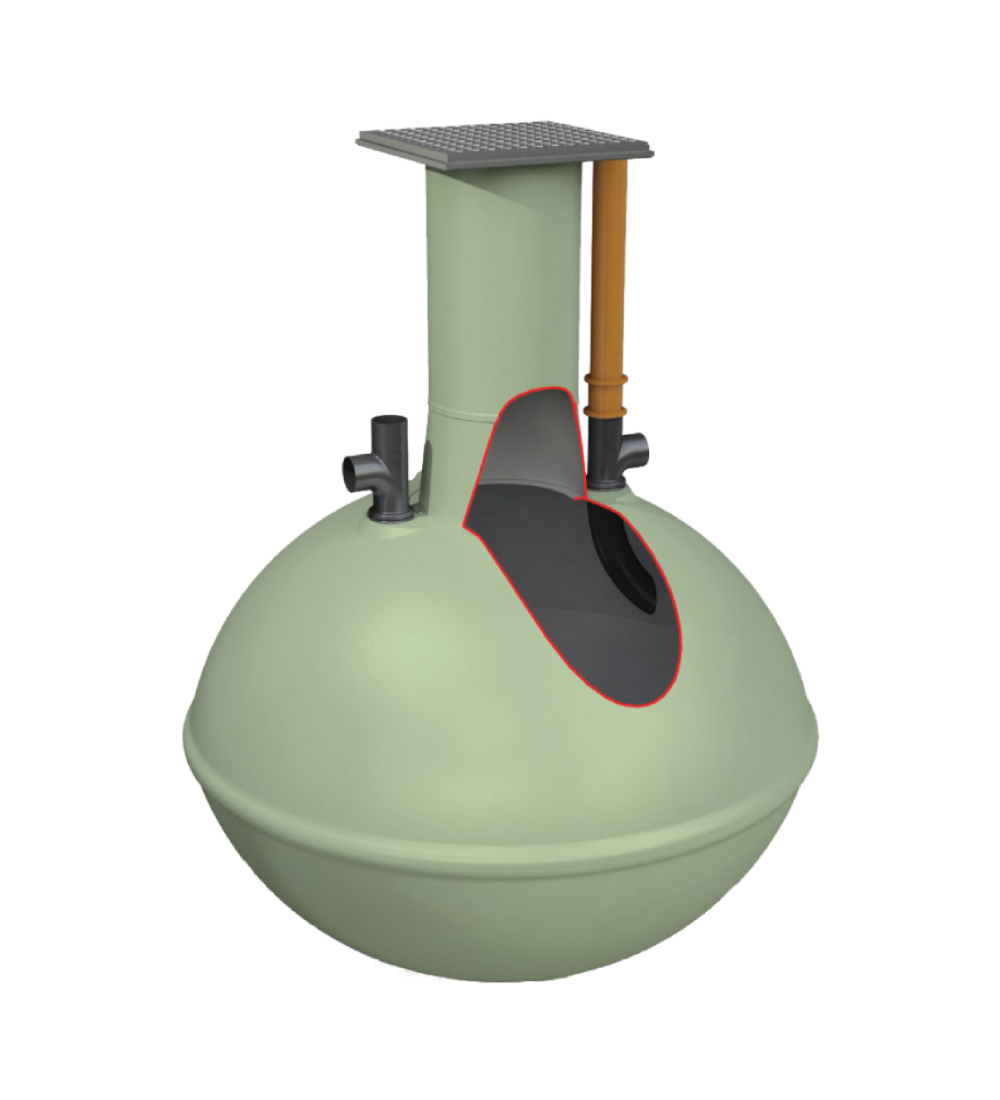 Clearwater Alpha Septic Tank 2,800L