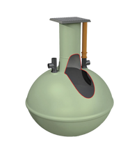 Load image into Gallery viewer, Clearwater Alpha Septic Tank 3,800L