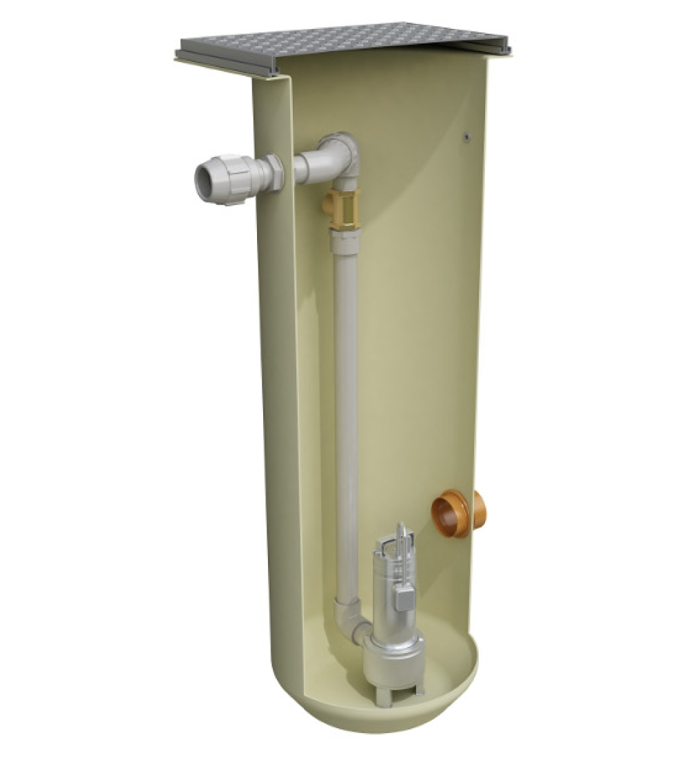 Clearwater 400L Compact Pump Station - Low Head Effluent