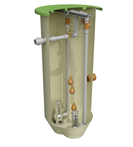 Clearwater 1250L Domestic Pump - Sewage