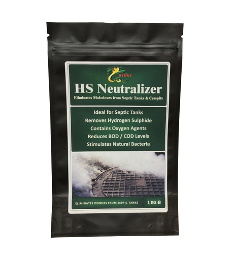 Hydra HS Neutralizer - Septic Tank Smell Remover