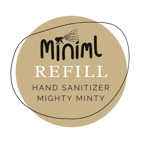 Hand Sanitizer Refill - Might Minty - per 50ml