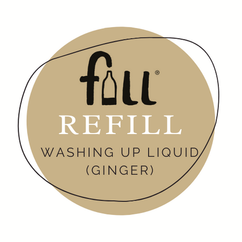 Washing up liquid (Ginger Fragrance) - per 50mL Refill