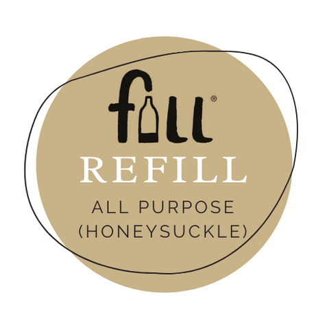 All Purpose Cleaner (Honeysuckle fragrance) - per 50ml Refill