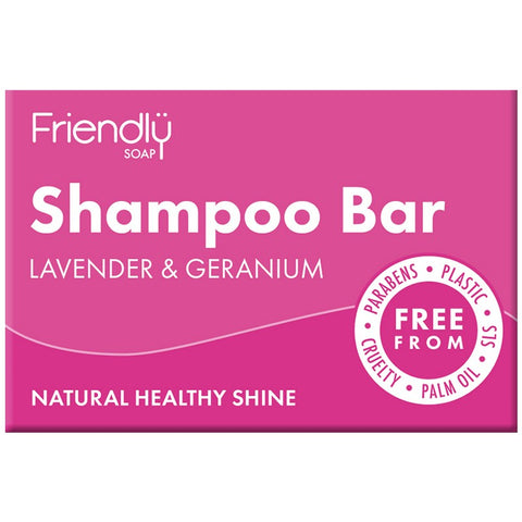 Friendly Shampoo Bar - Lavender & Geranium