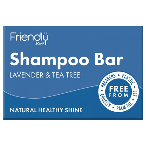 Friendly Shampoo Bar - Lavender & Tea Tree