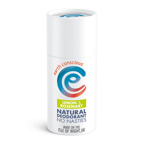 Earth Conscious Natural Deodorant Stick - Lemon & Rosemary