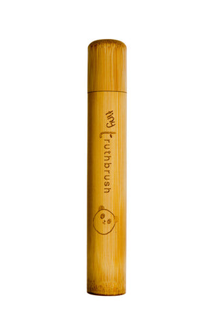 Bamboo Tiny Truthbrush Travel Case