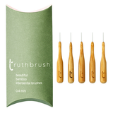 Interdental brushes (Bamboo) - Pack of 5 (0.4mm)