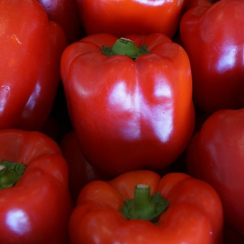Red peppers (organic) Spain - 100g