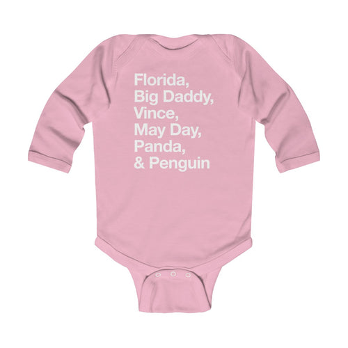 Helveltica Updates - Infant Long Sleeve Bodysuit