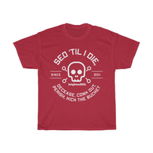 Load image into Gallery viewer, Till I Die - White Print - Unisex Heavy Cotton Tee