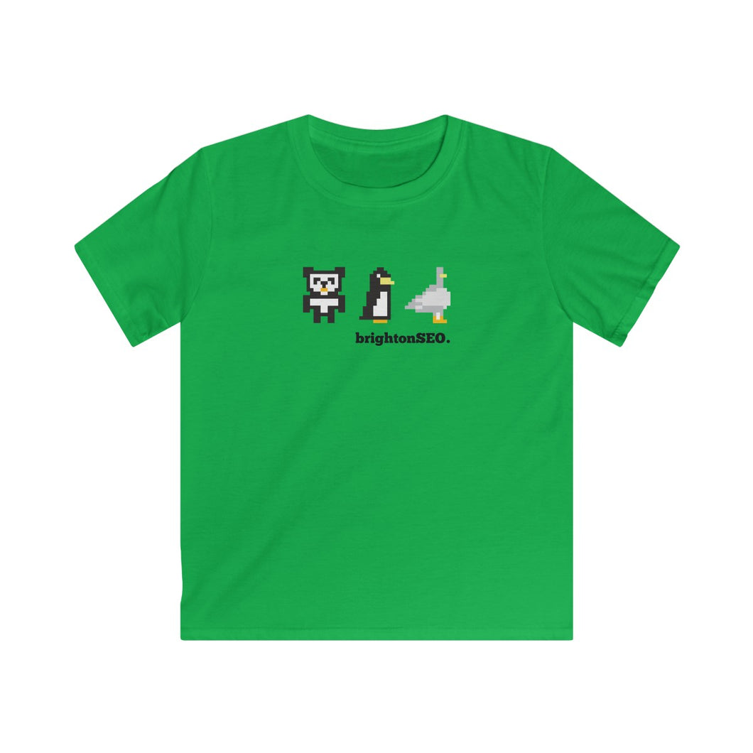 8 Bit Updates - Kids Softstyle Tee