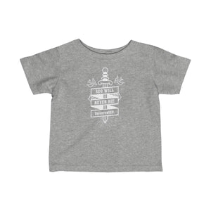 SEO Will Never Die Infant Fine Jersey Tee