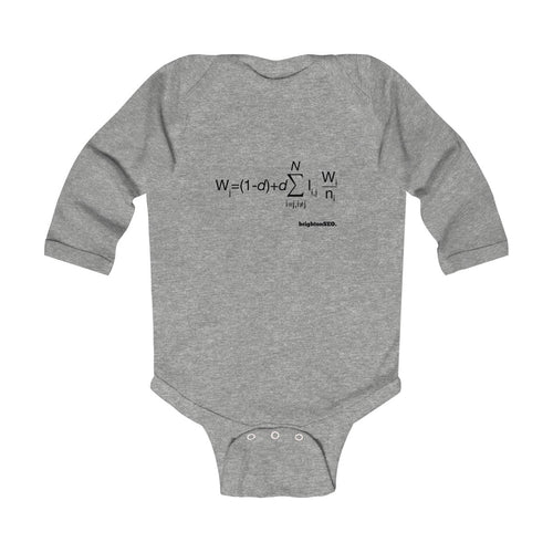 Pagerank - Infant Long Sleeve Bodysuit