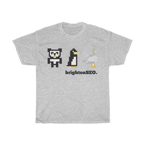 8 Bit Google Updates - Unisex Heavy Cotton Tee
