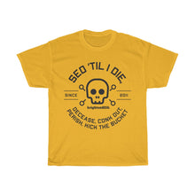Load image into Gallery viewer, Till I Die 0 Black Unisex Heavy Cotton Tee