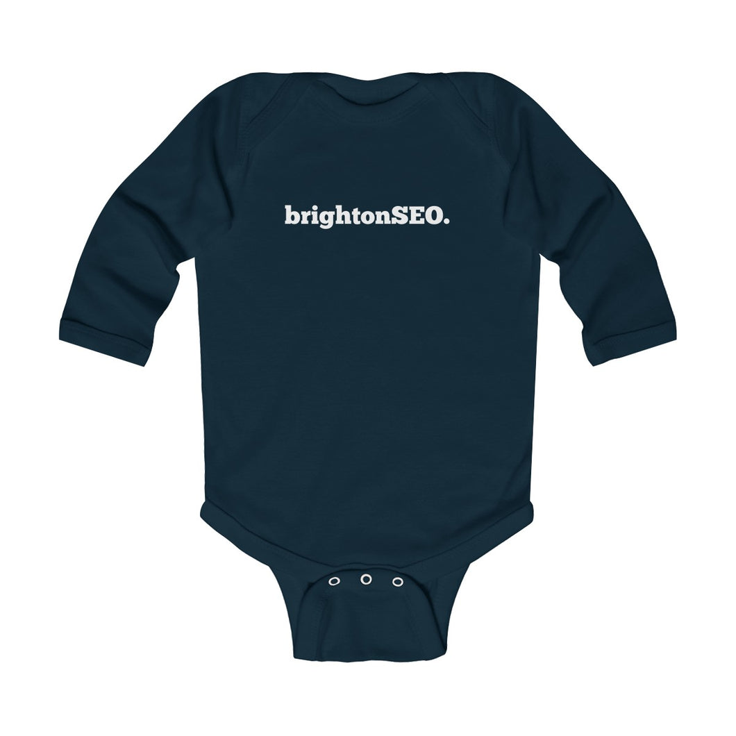 BrightonSEO Logo Infant Long Sleeve Bodysuit