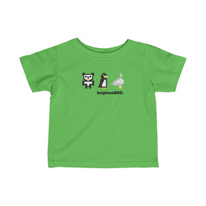 8 Bit Updates - BrightonSEO Infant Fine Jersey Tee