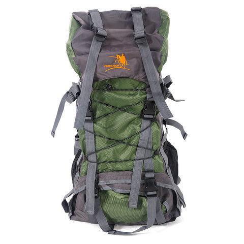60L Hiking Mountaineer Backpack - Green
