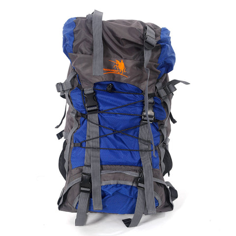 60L Hiking Mountaineer Backpack - Blue