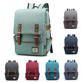 Canvas Vintage Day Backpack