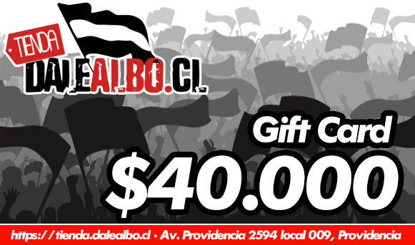 Gift Card $40.000