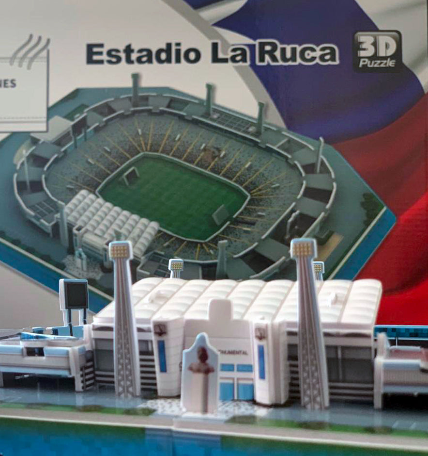 "Puzzle armable 3D del Estadio Monumental ""La Ruca 3D"""