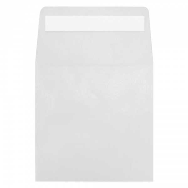 65x65mm Glassine Peel and Seal envelopes - BEE Zero Waste