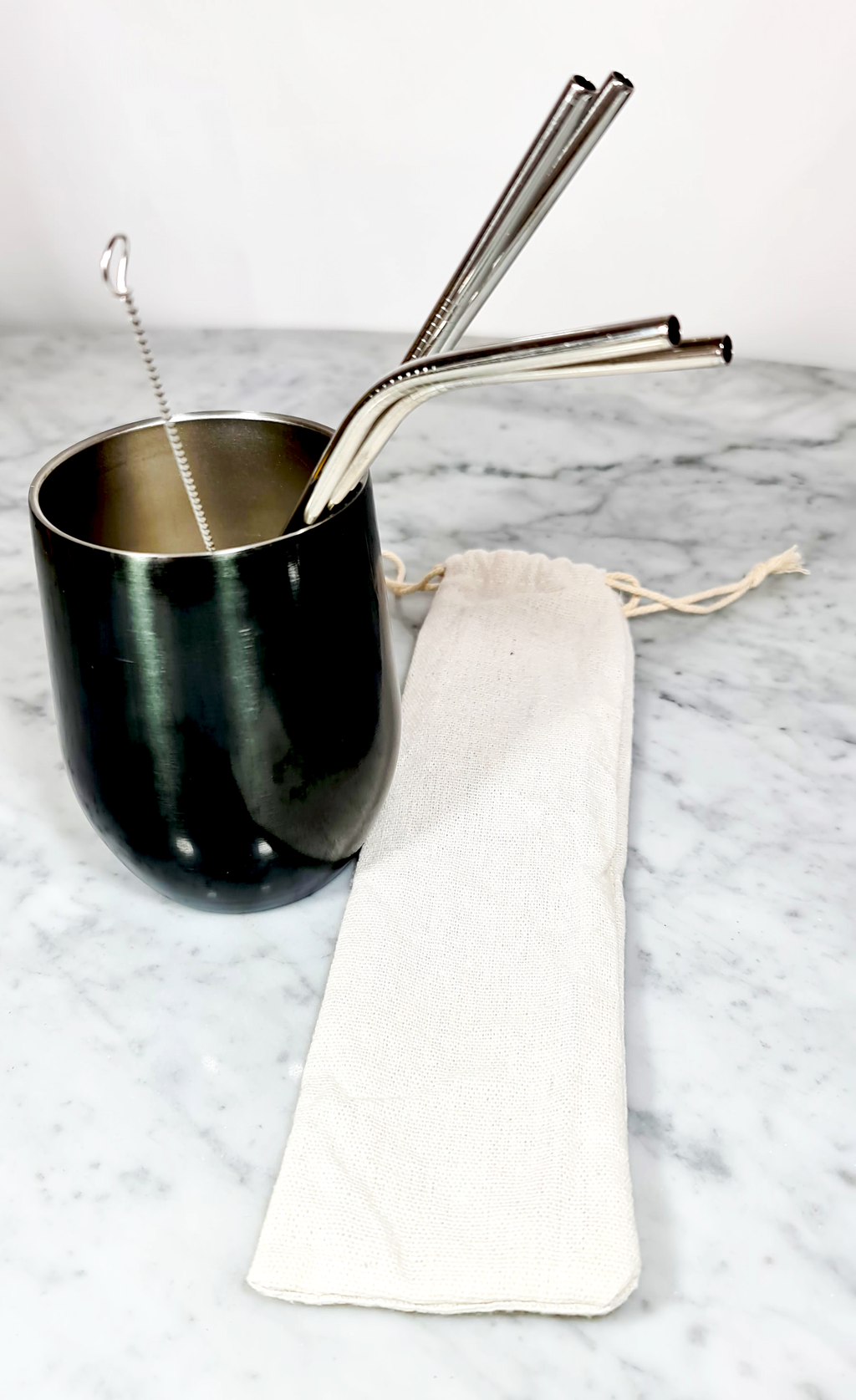 Stainless Steel Straws, Reusable Metal Drinking Straws and accesories, make your own set