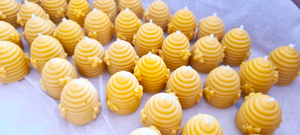 BEESWAX CANDLES, Hand Poured in UK, BEE Zero Waste, eco-friendly candles, pure beeswax - BEE Zero Waste