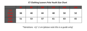Austins Ferry Primary 2021 Leavers Polo Youth Sizing