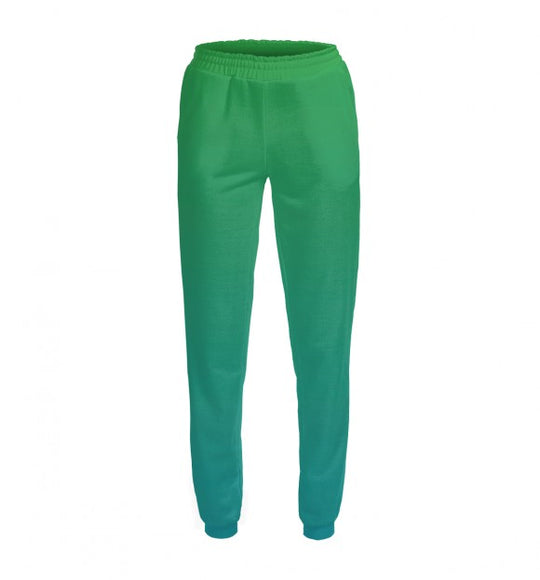 Women's pants Green-blue