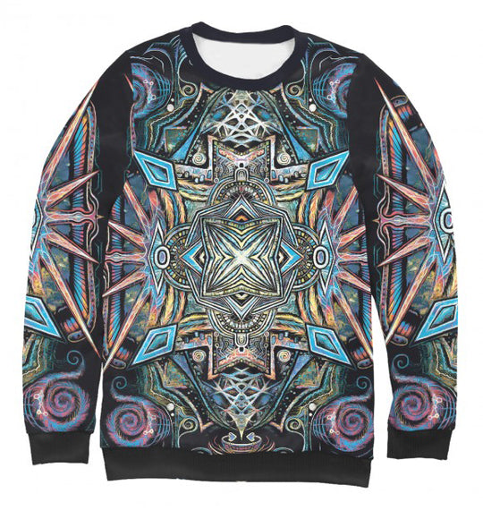 Women's sweatshirt Mandala of balance