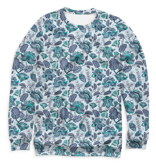 Women's sweatshirt Flowers