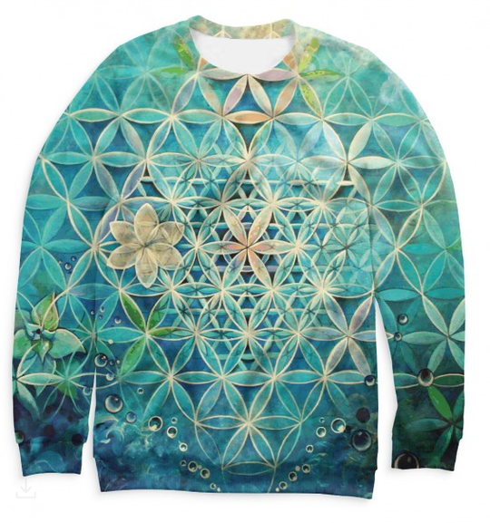 Women's sweatshirt Flower of Life