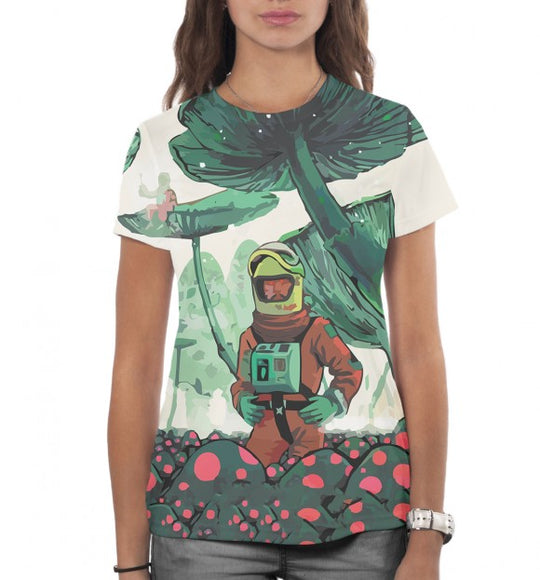 Women's t-shirt Other planet