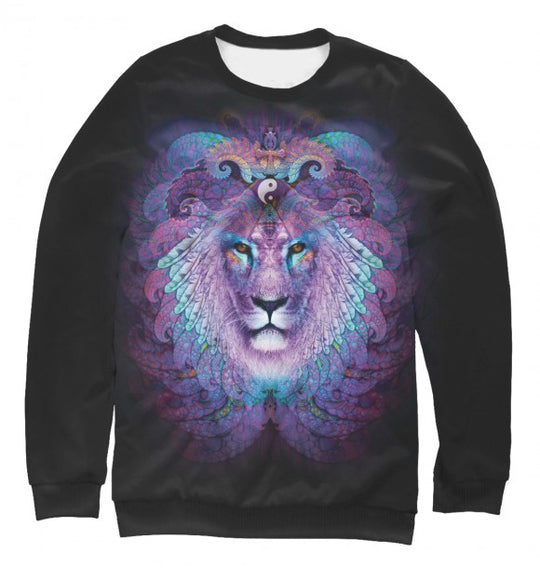 Women's sweatshirt Astral lion
