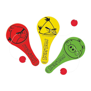 Angry Birds Party Supplies - Paddle Balls Favor
