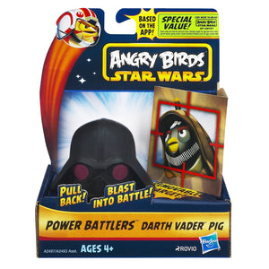 Angry Birds Toys - Star Wars Darth Vader Pig Power Battler
