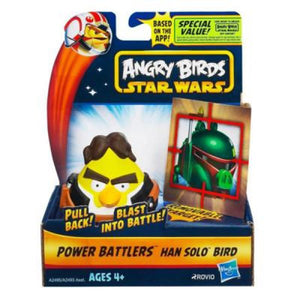Angry Birds Toys - Star Wars Han Solo Bird Power Battler