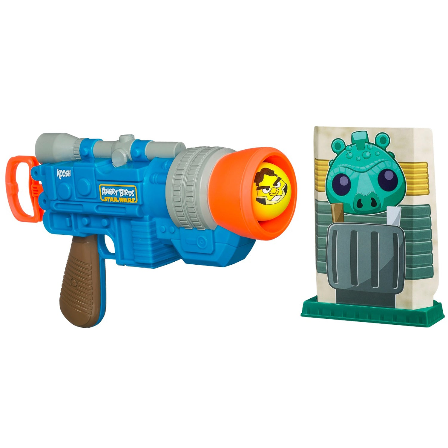 Angry Birds Toys - Star Wars Han Solo Koosh Ball Launcher