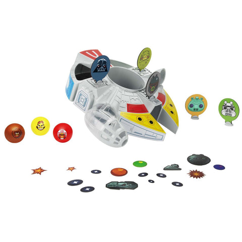Angry Birds Toys - Star Wars Millennium Falcon Bounce Game