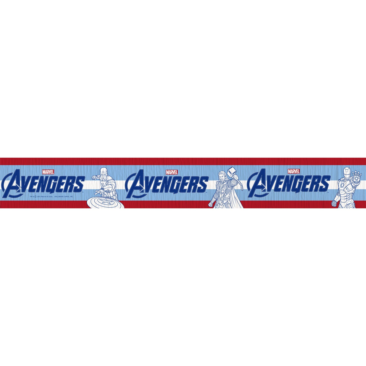 Avengers Party Supplies - Streamer Decorations