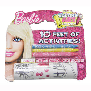 Barbie Toys - 10' Rolling Art