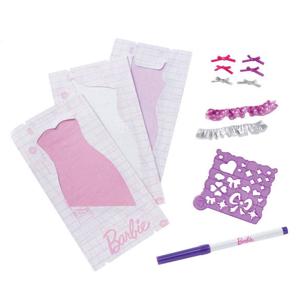 Barbie Toys - Design & Dress Studio Ruffler Kit