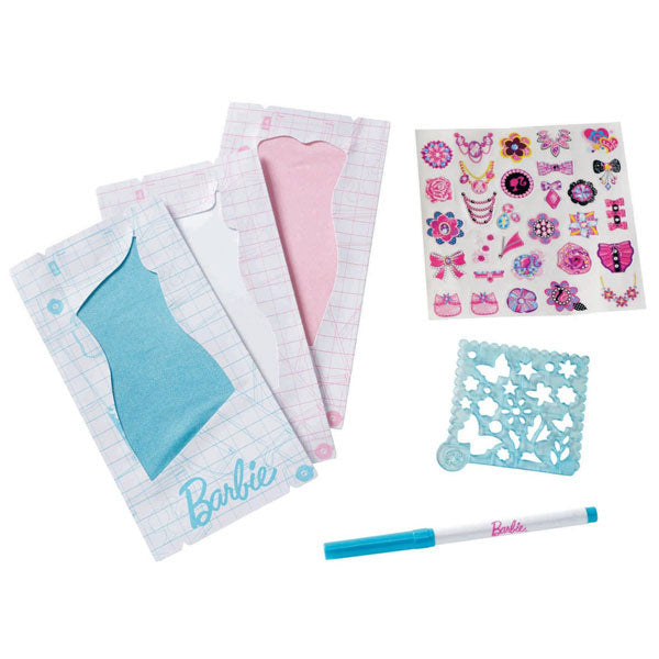 Barbie Toys - Design & Dress Studio Stickers Kit